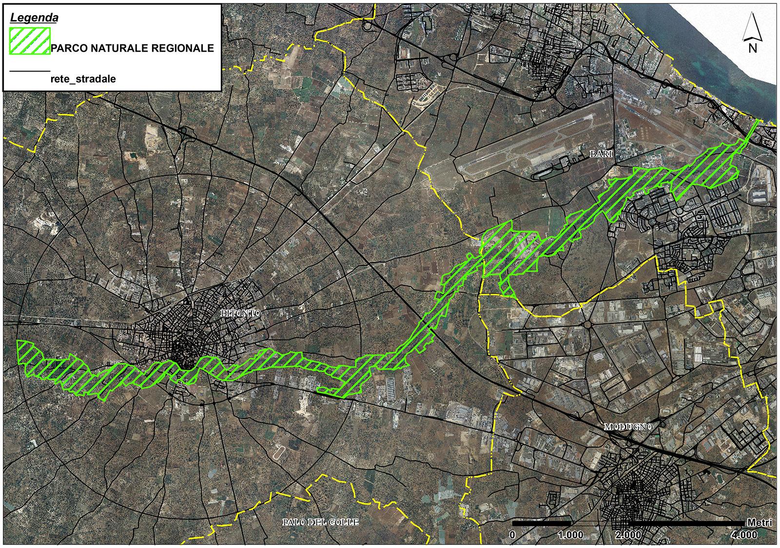 Localizzazione - Perimetro Lama Balice